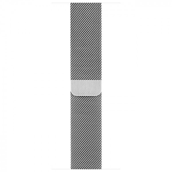 Ремешок Apple Watch 42mm Milanese Loop Silver (MJ5F2)