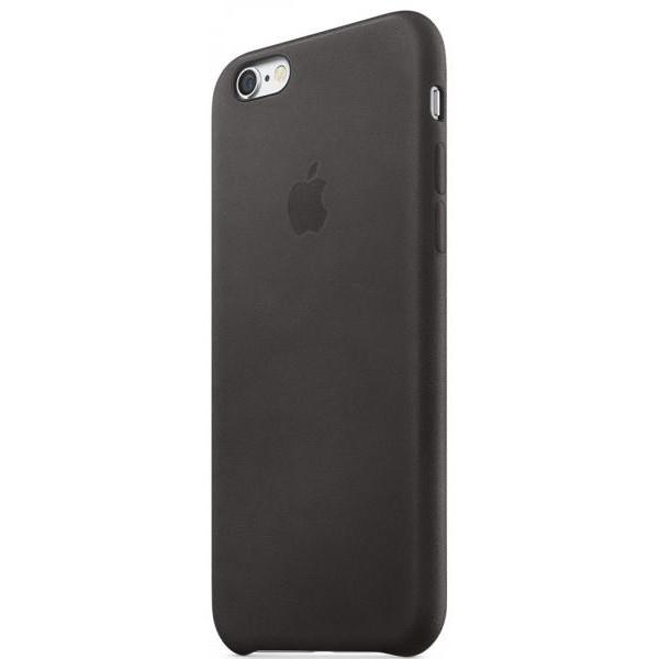 Чехол Apple iPhone 6s Plus Leather Case Black (MKXF2)