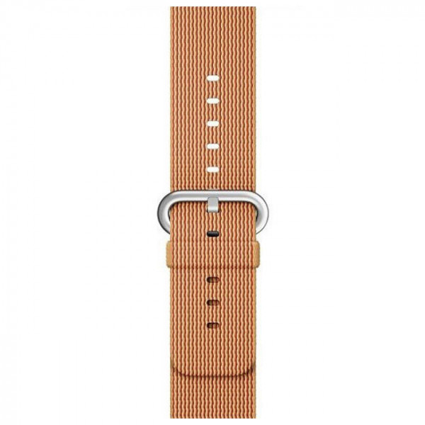 Ремешок Apple Woven Nylon Band Gold/Red (MMA62) for Apple Watch 42mm