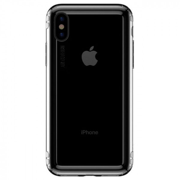 Чехол-накладка Baseus Safety Airbags Casefor iPhone XS Max Transparent (ARAPIPH65-SF02)