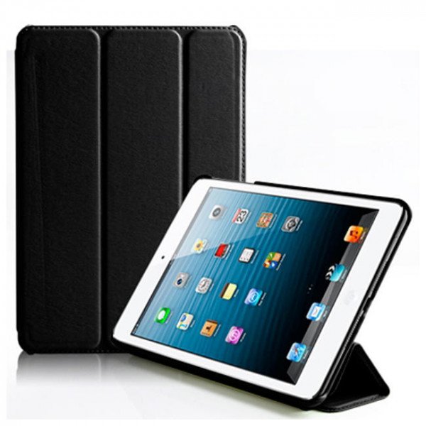 Чехол-книжка Verus Crocodile PU Leather Case for iPad Mini (Black) (VSIP6IK3B)