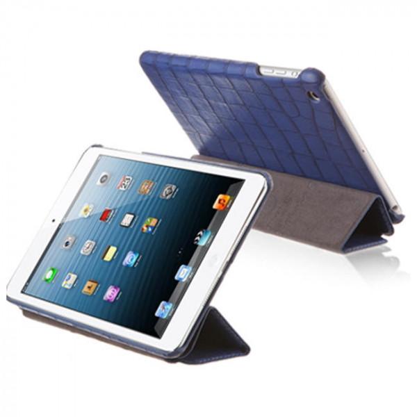 Чехол-книжка Verus Crocodile PU Leather Case for iPad Mini (Blue) (VSIP6IK4BL)