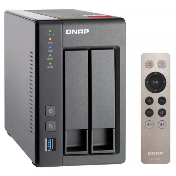 Система хранения данных NAS QNAP (TS-251+-2G)