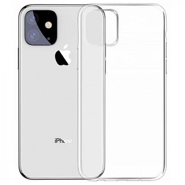 Чехол Baseus Simplicity Series for Apple iPhone 11 (Transparent ) (ARAPIPH61S-02)