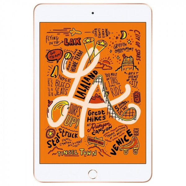 Apple iPad mini 5 Wi-Fi + LTE 64GB Gold (MUXH2) 2019