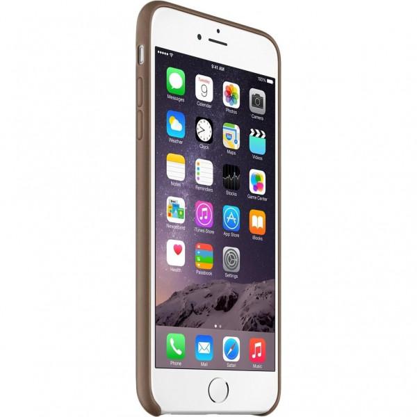 Чехол Apple iPhone 6 Plus Leather Case Olive Brown (MGQR2)