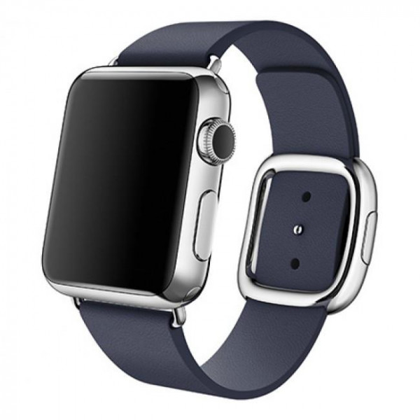 Ремешок Apple Watch 38mm Modern Buckle Midnight Blue (MJ5C2)