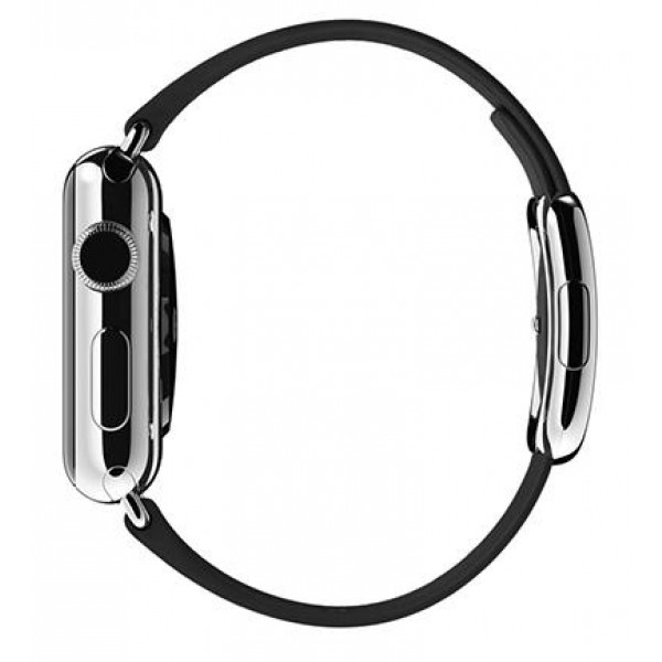 Ремешок Apple Watch 38mm Modern Buckle Black (MJY82)