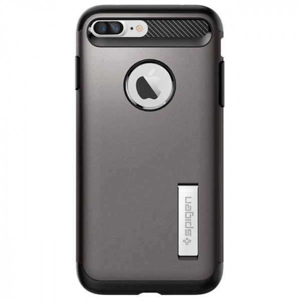 Чехол-накладка Spigen Case Slim Armor Gun Metal for iPhone 7 Plus (SGP-043CS20309)