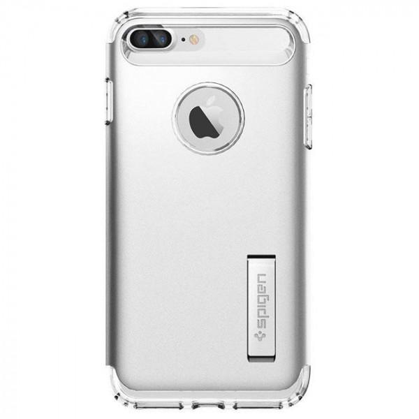 Чехол-накладка Spigen Case Slim Armor Satin Silver for iPhone 7 Plus (SGP-043CS20313)