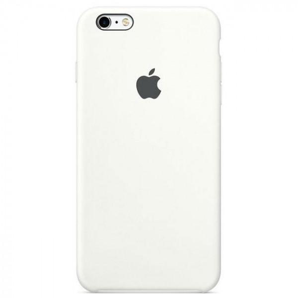 Чехол Apple iPhone 6s Plus Silicone Case White (MKXK2)