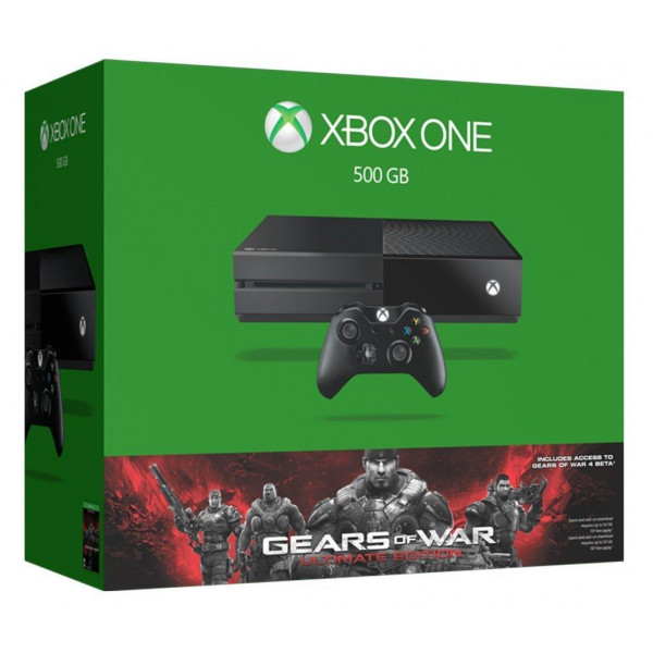 Microsoft Xbox One 500GB + Gears of War Ultimate Edition