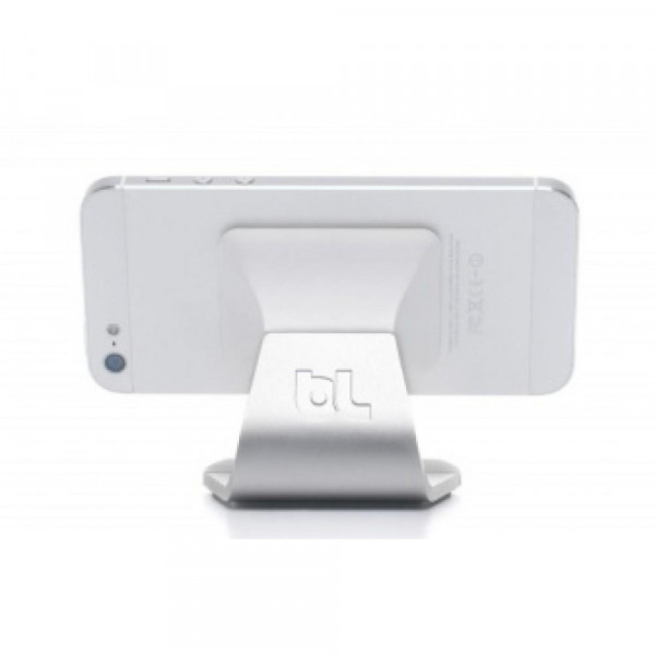Подставка Bluelounge Milo Smartphone Stand Aluminum/White (MO-AL-WH)