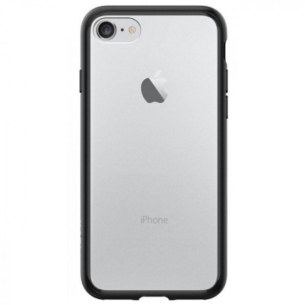 Чехол-накладка Spigen Case Ultra Hybrid Black for iPhone 7 (SGP-042CS20446)