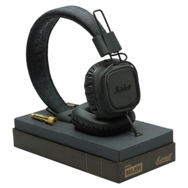 Наушники Marshall Headphones Major II Pitch Black (4091114)