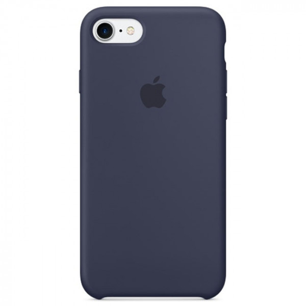 Чехол Apple iPhone 7 Silicone Case Midnight Blue (MMWK2)