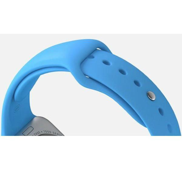 Ремешок Apple Watch 38mm Sport Band Blue (MLDA2)