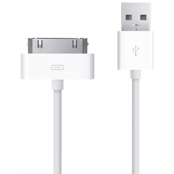 USB Кабель Apple 30-pin to USB Cable Dock Connector (MA591)