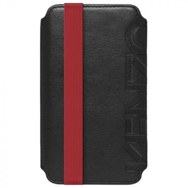 Чехол-карман Kenzo Pouch Reverso Logo for iPhone 5s/SE (Black)