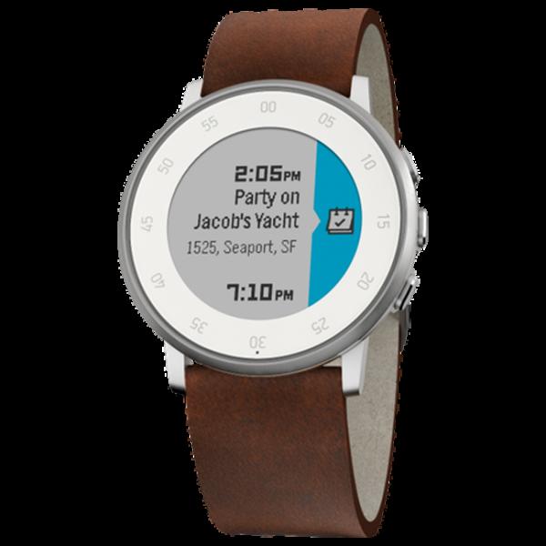 Смарт-часы Pebble Time Round Smart Watch (Silver)