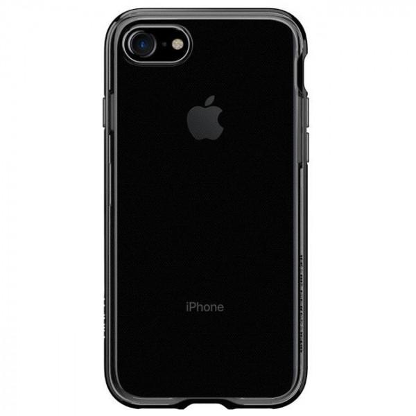 Чехол-накладка Spigen Case Neo Hybrid Crystal Jet Black for iPhone 7 (SGP-042CS20838)