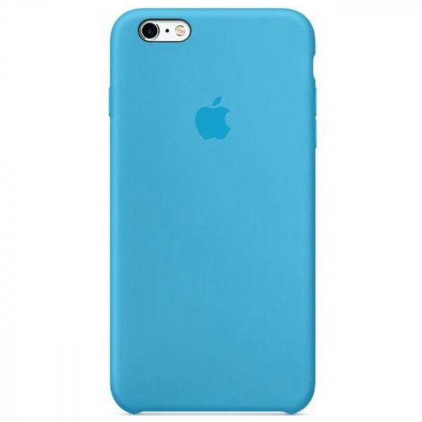 Чехол Apple iPhone 6s Plus Silicone Case Blue (MKXP2)