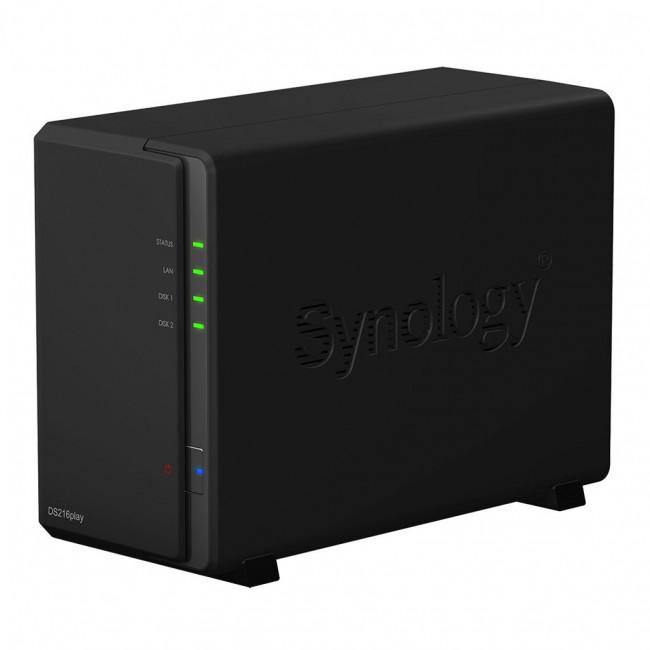 Система хранения данных NAS Synology DS216play (DS216play)
