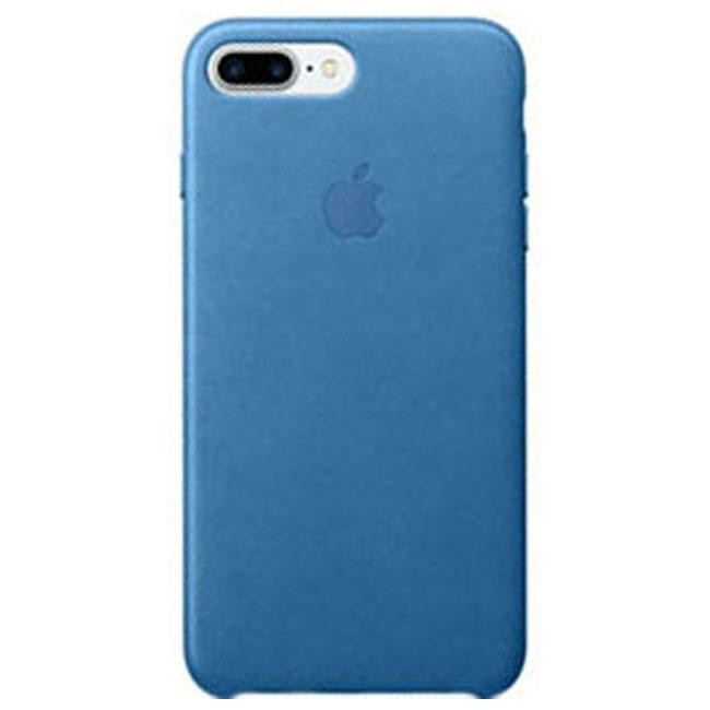 Чехол Apple iPhone 7 Plus Leather Case Sea Blue (MMYH2)