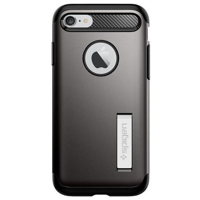 Чехол-накладка Spigen Case Slim Armor Gun Metal for iPhone 7 (SGP-042CS20301)