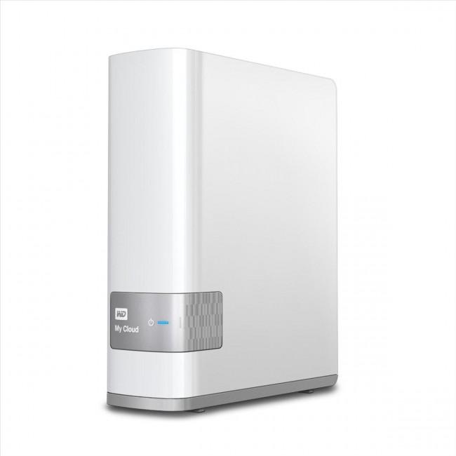 Система хранения данных NAS WD 8TB My Cloud (WDBCTL0080HWT-EESN)