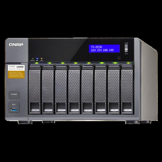 Система хранения данных NAS QNAP (TS-853A-8G)
