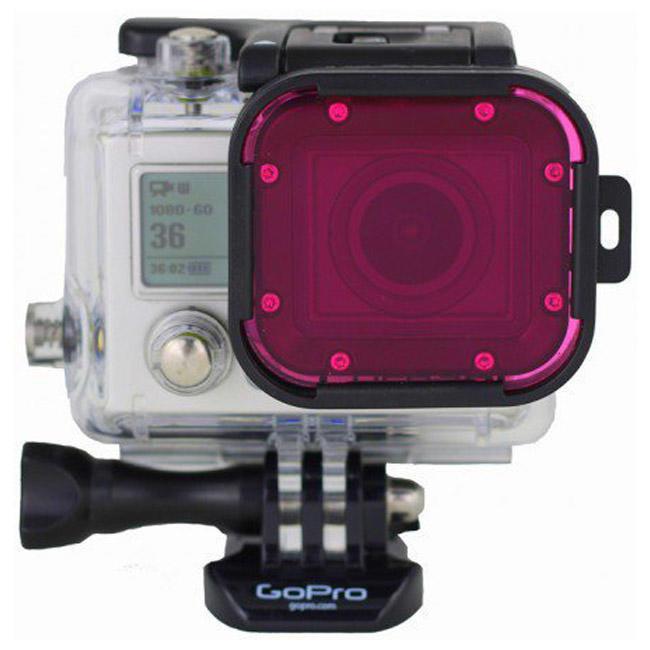 Светофильтр Polar Pro Hero3 Cube Magenta Filter (C1015)