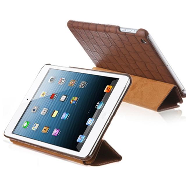 Чехол-книжка Verus Crocodile PU Leather Case for iPad Mini (Coffee) (VSIP6IK4C)