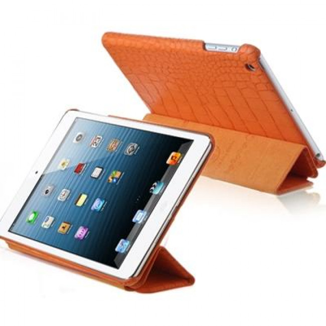 Чехол-книжка Verus Crocodile PU Leather Case for iPad Mini (Orange) (VSIP6IK4O)