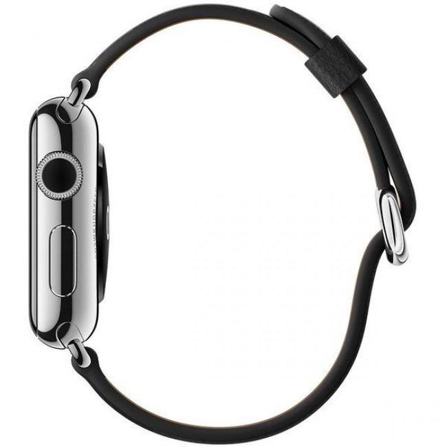 Ремешок Apple Watch 38mm Classic Buckle Black (MLHG2)