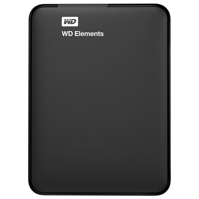Жесткий диск Western Digital Elements 500GB WDBUZG5000ABK-EESN 2.5 USB 3.0 External Black