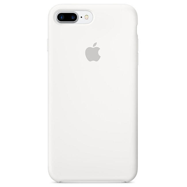 Чехол Apple iPhone 7 Plus Silicone Case White (MMQT2)