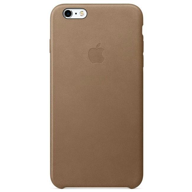 Чехол Apple iPhone 6s Plus Leather Case Brown (MKX92)