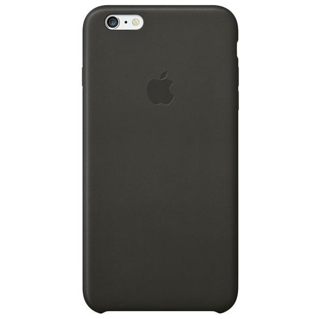 Чехол Apple iPhone 6 Plus Leather Case Black (MGQX2)