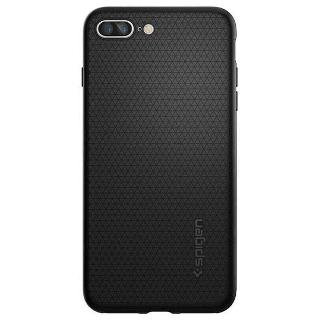 Чехол-накладка Spigen Case Liquid Crystal Armor Black for iPhone 7 Plus (SGP-043CS20525)