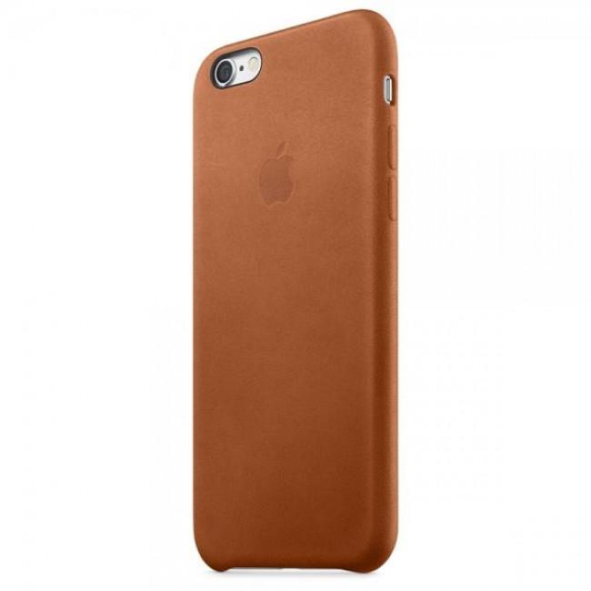 Чехол Apple iPhone 6s Leather Case Saddle Brown (MKXT2)