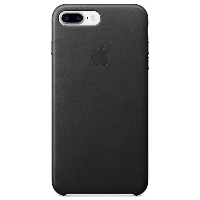 Чехол Apple iPhone 7 Plus Leather Case Black (MMYJ2)