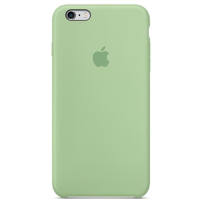 Чехол Apple iPhone 6s Plus Silicone Case Mint (MM692)