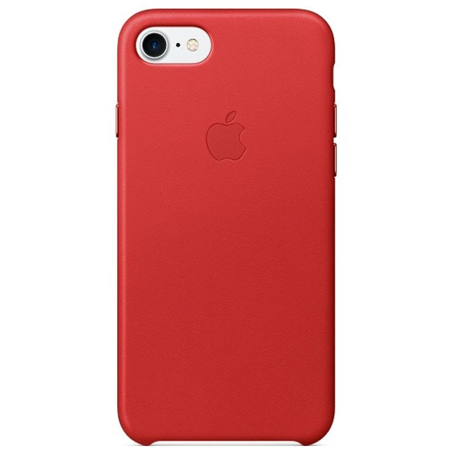 Чехол Apple iPhone 7 Leather Case (PRODUCT)RED (MMY62)