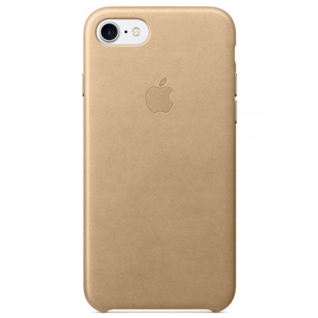 Чехол Apple iPhone 7 Leather Case Tan (MMY72)