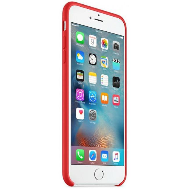 Чехол Apple iPhone 6s Plus Silicone Case Red (MKXM2)