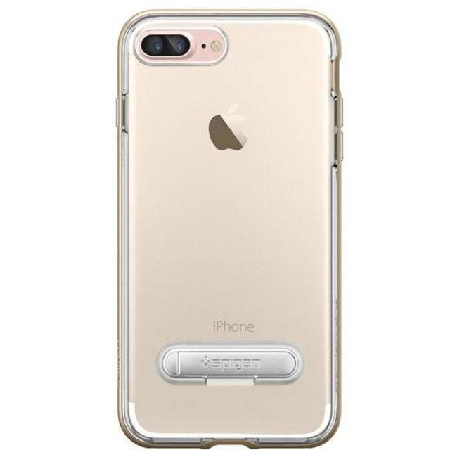 Чехол-накладка Spigen Case Crystal Hybrid Champagne Gold for iPhone 7 Plus (SGP-043CS20509)
