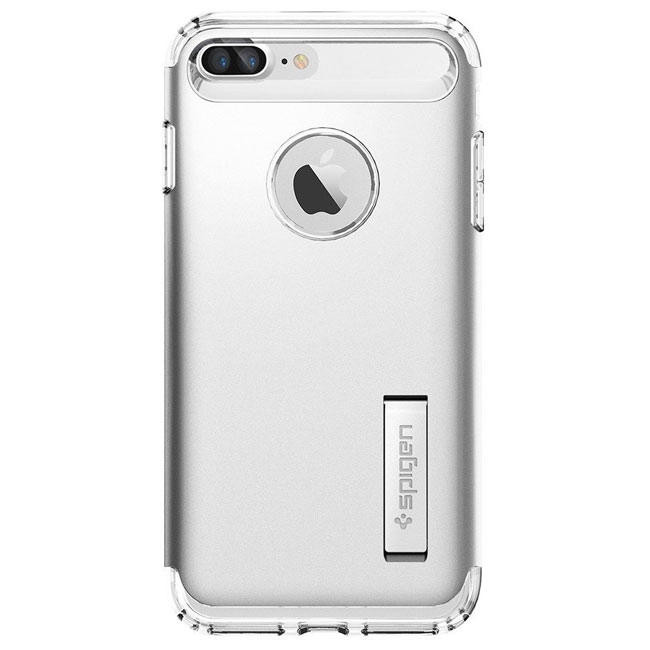 Чехол-накладка Spigen Case Slim Armor Satin Silver for iPhone 7 Plus (SGP-043CS20313)