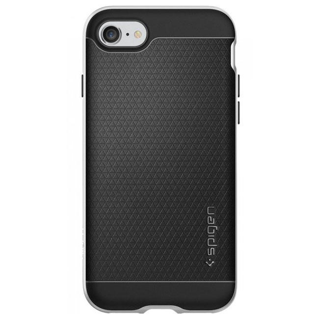 Чехол-накладка Spigen Case Neo Hybrid Satin Silver for iPhone 7 (SGP-042CS20520)