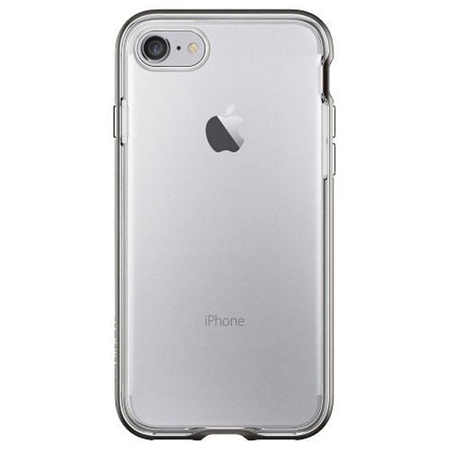 Чехол-накладка Spigen Case Neo Hybrid Crystal Gun Metal for iPhone 7 (SGP-042CS20522)